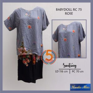 baby-doll-rc-75-batik-kuda-mas-rose-abu-kasa-lima-solo
