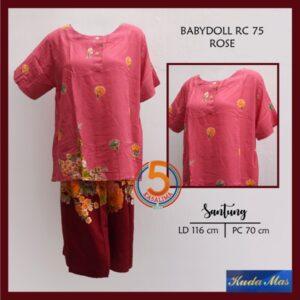 baby-doll-rc-75-batik-kuda-mas-rose-ornsemumaroon-kasa-lima-solo