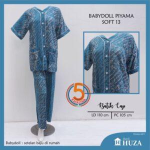 babydoll-piyama-batik-cap-kancing-depan-huza-soft-13-biru-kasa-lima-kasalima-kasa-lima-solo