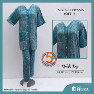 babydoll-piyama-batik-cap-kancing-depan-huza-soft-14-tosca-kasa-lima-kasalima-kasa-lima-solo