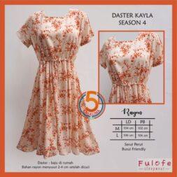 daster-kayla-rayon-printing-serut-perut-fulofe-season-4-oren-kasa-lima-kasalima-kasa-lima-solo