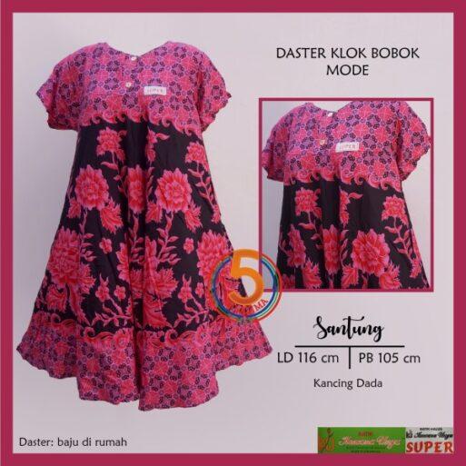 daster-klok-bobok-santung-printing-kancing-dada-kencana-ungu-mode-pink-kasa-lima-kasalima-solo