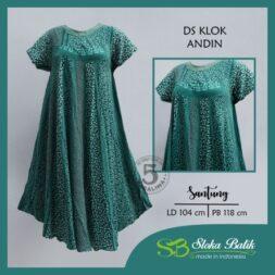 klok-andin-santung-sloka-batik-hijau-facebook