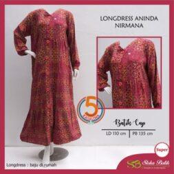 longdress-aninda-kancing-depan-batik-cap-sloka-batik-nirmana-pink-kasa-lima-kasalima-fkasa-lima-solo