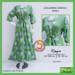 longdress-jodha-1-rayon-printing-kancing-dada-serut-perut-hap-anila-hijau-kasa-lima-kasalima-solo