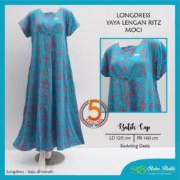 longdress-yaya-lengan-ritz-batik-cap-resleting-dada-sloka-batik-moci-biru-kasa-lima-kasalima-kasa-lima-solo