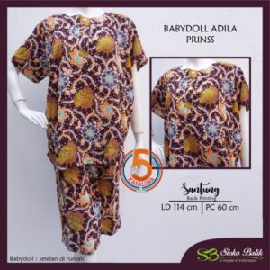 babydoll-adila-santung-printing-kancing-dada-sloka-batik-prinss-maroon-kasalima-kasa-lima-kasa-lima-solo