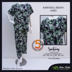babydoll-ebony-santung-printing-kancing-dada-sloka-batik-albo-hitam-kasa-lima-kasalima-kasa-lima-solo