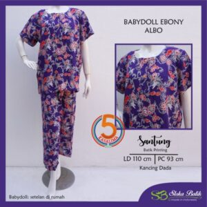 babydoll-ebony-santung-printing-kancing-dada-sloka-batik-albo-ungu-kasa-lima-kasalima-kasa-lima-solo