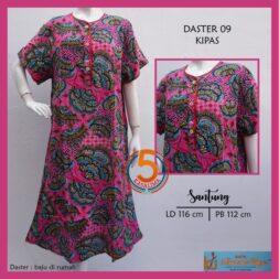 daster-09-santung-printing-kancing-dada-kencana-ungu-label-biru-kipas-pink-kasa-lima-kaslima-kasa-lima-solo