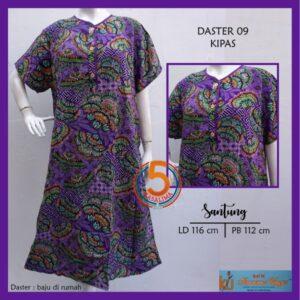daster-09-santung-printing-kancing-dada-kencana-ungu-label-biru-kipas-ungu-kasa-lima-kaslima-kasa-lima-solo
