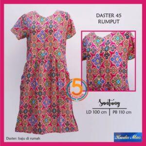 daster-45-santung-printing-kuda-mas-rumput-pink-kasa-lima-kasalima-solo