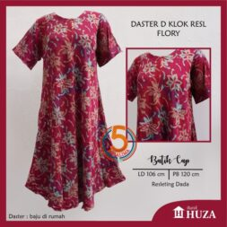 daster-d-klok-batik-cap-resl-resleting-dada-batiik-huza-flory-pink-kasa-lima-kasalima-kasa-lima-solo