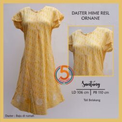 daster-hime-resl-santung-printing-resleting-dada-tali-belakang-semerbak-batik-ornane-kuning-kasa-lima-kasalima-kasa-lima-solo