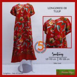 longdress-08-santung-printing-kancing-dada-saku-luar-kencana-ungu-label-hijau-tulip-merah-kasa-lima-kasalima-kasa-lima-solo