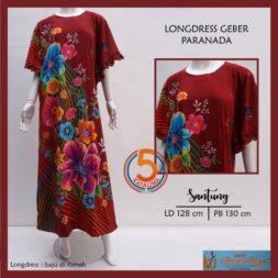 longdress-geber-kencana-ungu-santung-printing-paranada-maroon-kasa-lima-kasalima-kasa-lima-solo