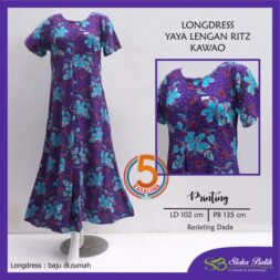 longdress-yaya-lengan-ritz-batik-printing-resleting-dada-sloka-batik-kawao-ungu-kasa-lima-kasalima-kasa-lima-solo