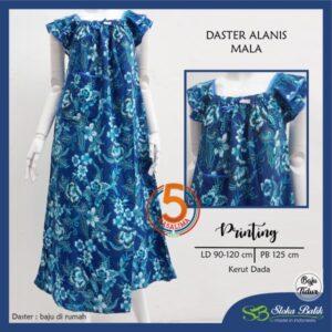 daster-alanis-printing-kerut-dada-sloka-batik-mala-biru-kasa-lima-kasalima-kasa-lima-solo