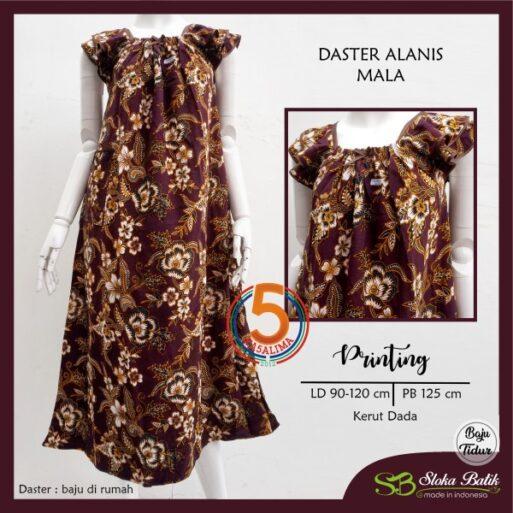 daster-alanis-printing-kerut-dada-sloka-batik-mala-maroon-kasa-lima-kasalima-kasa-lima-solo