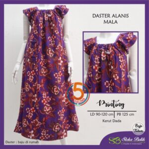 daster-alanis-printing-kerut-dada-sloka-batik-mala-ungu-kasa-lima-kasalima-kasa-lima-solo