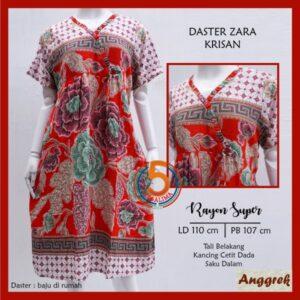 daster-zara-rayon-super-printing-kancing-cetit-dada-tali-belakang-saku-dalam-anggrek-krisan-merah-kasa-lima-kasalima-kasa-lima-solo