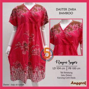 daster-zara-rayon-super-tali-belakang-saku-dalam-kancing-cetit-dada-anggrek-bamboo-pink-kasa-lima-kasalima-kasa-lima-solo